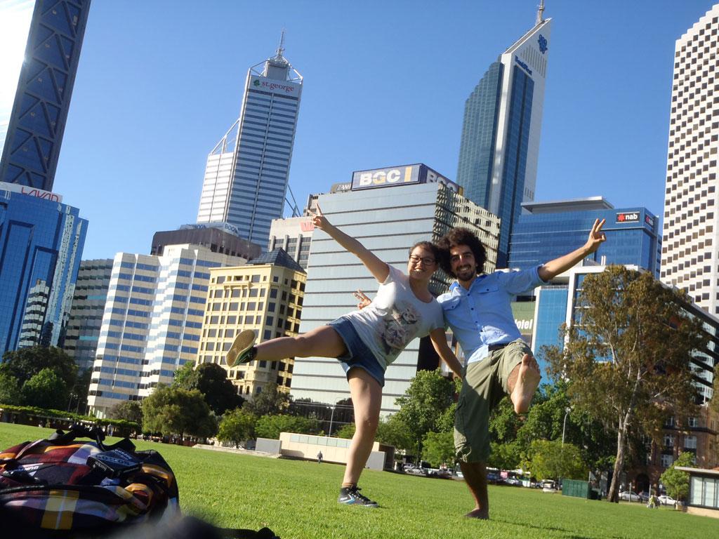 Arrivée en Australie