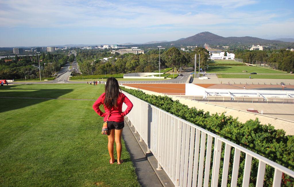 Canberra, capitale de l'Australie